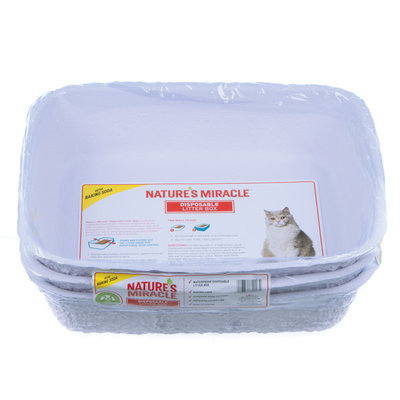3-pack Medium Disposable Litter Box