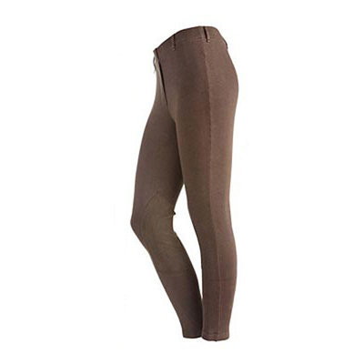 On Course Pull-On Knee Patch Breeches