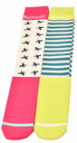 Knee High Boot Socks, 2 Pack