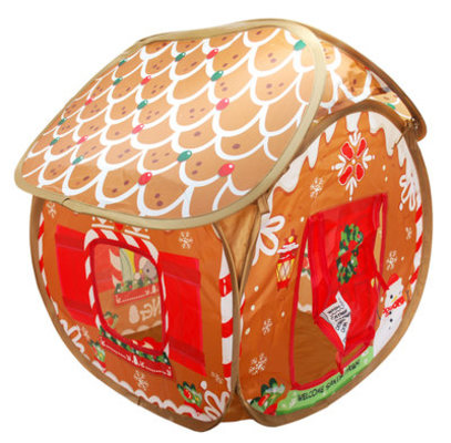 KONG Holiday Play Spaces Gingerbread Bungalow