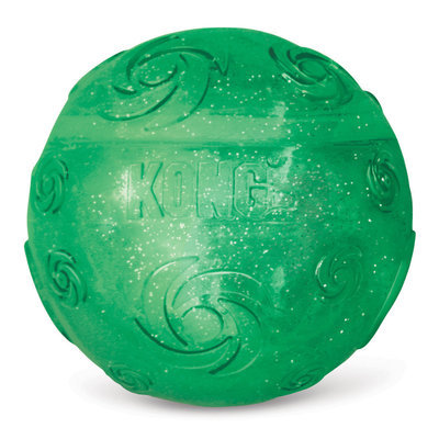 Kong Holiday Squeezz Crackle Ball
