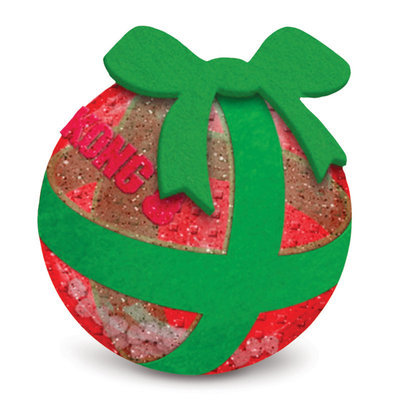 Large Kong Holiday Squeezz Gift Ball