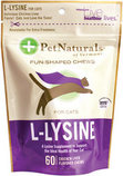 L-Lysine Fun-Shaped Chews, 60 Count