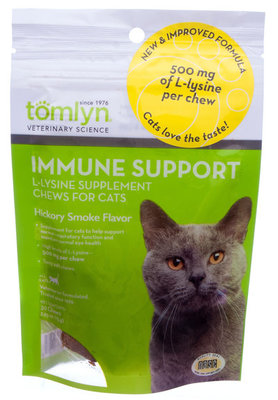 L-Lysine Immune Support Chews for Cats, 30 count