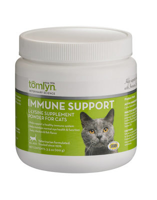 L-Lysine Powder Immune Support for Cats, 3.5 oz