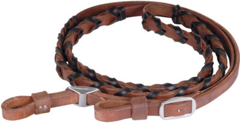 Martin Saddlery Laced Barrel Reins