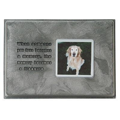 When Someone You Love... Stone w/ Photo Frame