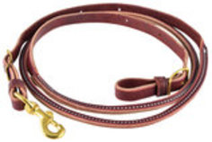 Latigo Round Center Roper Rein