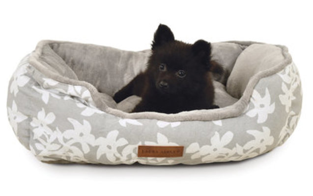 Laura Ashley Cuddler Pet Bed, 24""