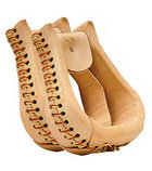 Leather Bell Bottom Stirrups