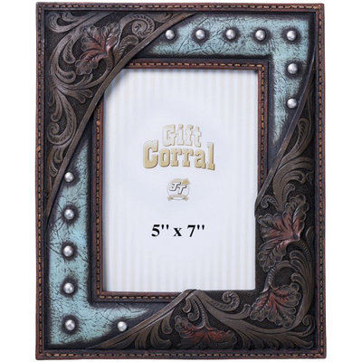 """Western Chic Picture Frames, 5"""" x 7"""""""