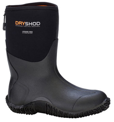 Dryshod Legend Men's Mid Boots, Black