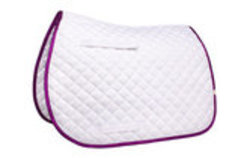 Lettia All-Purpose Saddle Pads w/ Sparkle Trim