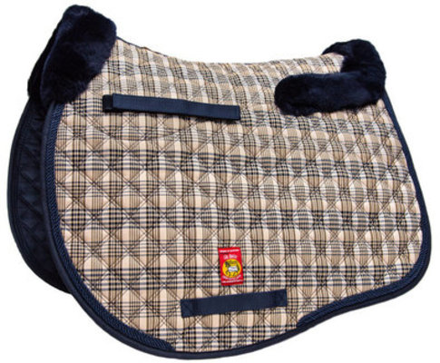 Lettia Baker Plaid Sheepskin All Purpose Pad