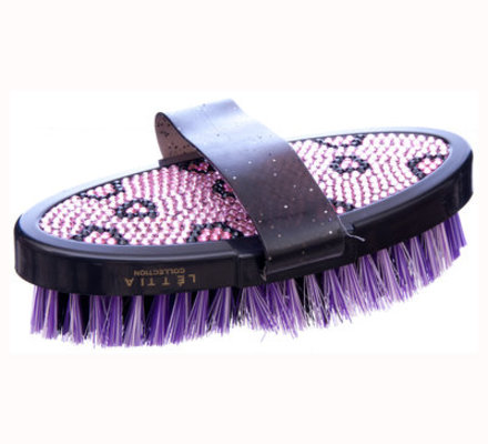 Lettia Crystal Collection Body Brush