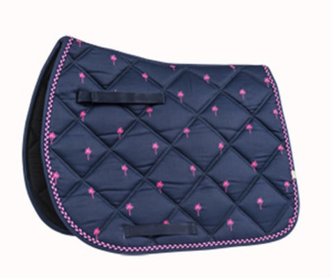 Lettia Collection Embroidered All Purpose Saddle Pad