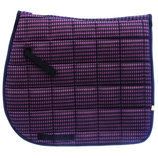 Lettia Houndstooth Dressage Pad