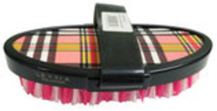 Lettia Plaid Body Brush