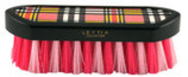Lettia Plaid Dandy Brush