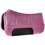 "Lettia Sparkle CoolMax Saddle Pad, 32""x 32"""