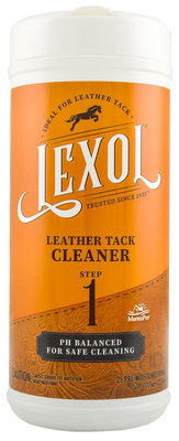 Lexol Quick-Wipes Leather Cleaner, 25 ct