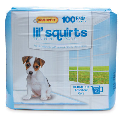 Lil' Squirts Training Pads, 100