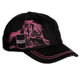 """Lila"" Barrel Racer Embroidered Cap"
