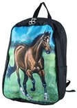 Lila Galloping Bay Backpack