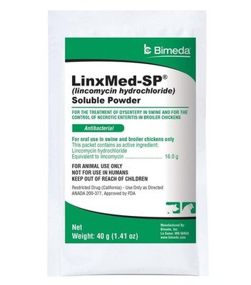 Lincomycin Soluble Powder, 40 gram