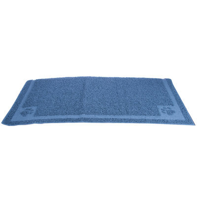 Ice Blue Cat Litter Mat