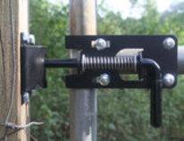 Lone Wolf Gate Latch
