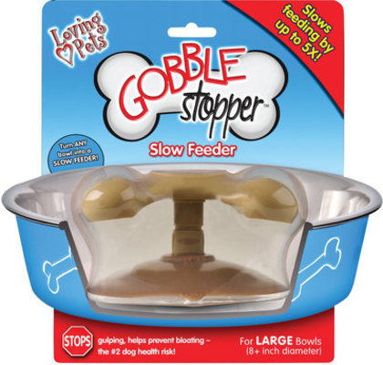 "Small Gobble Stopper (for bowls under 6"")"