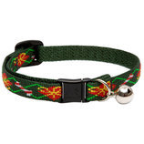 "1/2"" Lupine Santa's Treats Cat Collar, 8-12"""