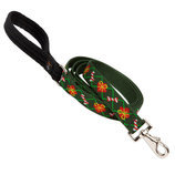 "Lupine 1/2"" Santa's Treats Dog Leash, 6'"