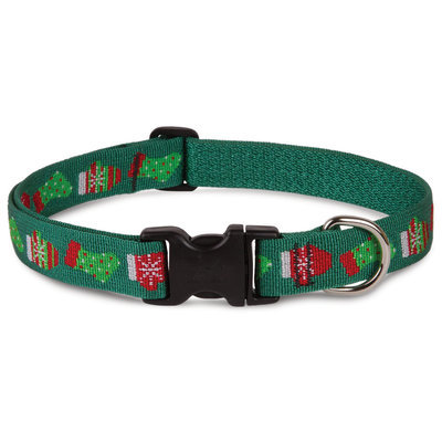 "8""-12"" ""Stocking Stuffer"" Dog Collar, 1/2"" W"