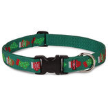 "Lupine 1/2"" W 'Stocking Stuffer' Dog Collars"