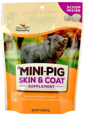 Manna Pro Mini Pig Skin & Coat Supplement