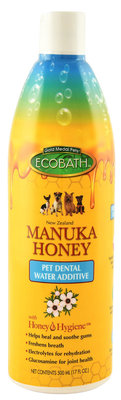 Ecobath Pet Dental Water Additive with Manuka Honey