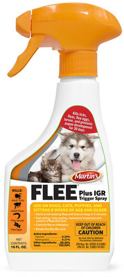 Martin's Flee Plus IGR Trigger Spray, 16 oz