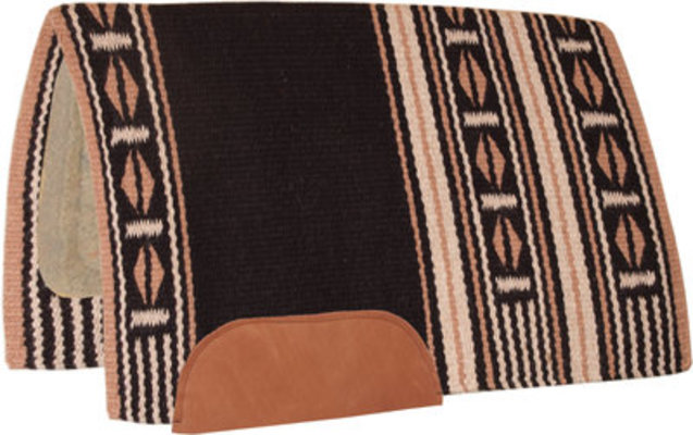 Maverick Saddle Pad With Tan Wool Bottom