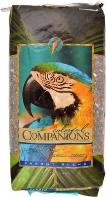Colorful Companions Parrot Feed, 25 lb