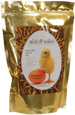 Mealworm Delight by Treats for Chickens