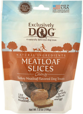 Meatloaf Slices Chewy Dog Treats