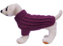 Jeffers Cable Knit Dog Sweater, Medium