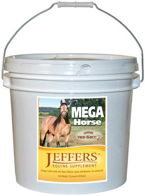 30 lb Jeffers™ Mega Horse with Live Yeast Culture