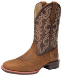 Men's All-Around Square Toe Authentic Boot, Wide, Brown/Pumpkin