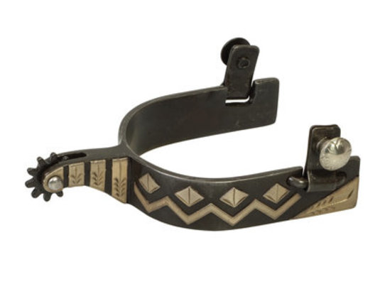 Men's Antique Chevron Spur