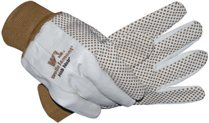 Hob-Nob® Canvas Gloves, large