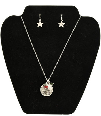 """""""Merry & Bright"""" Necklace & Earring Set"""