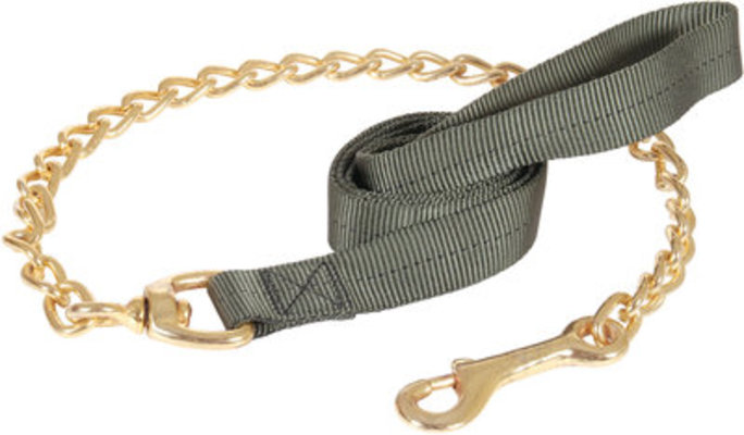 "Military Spec Dog Leash with Chain, 1""W x 5'L"